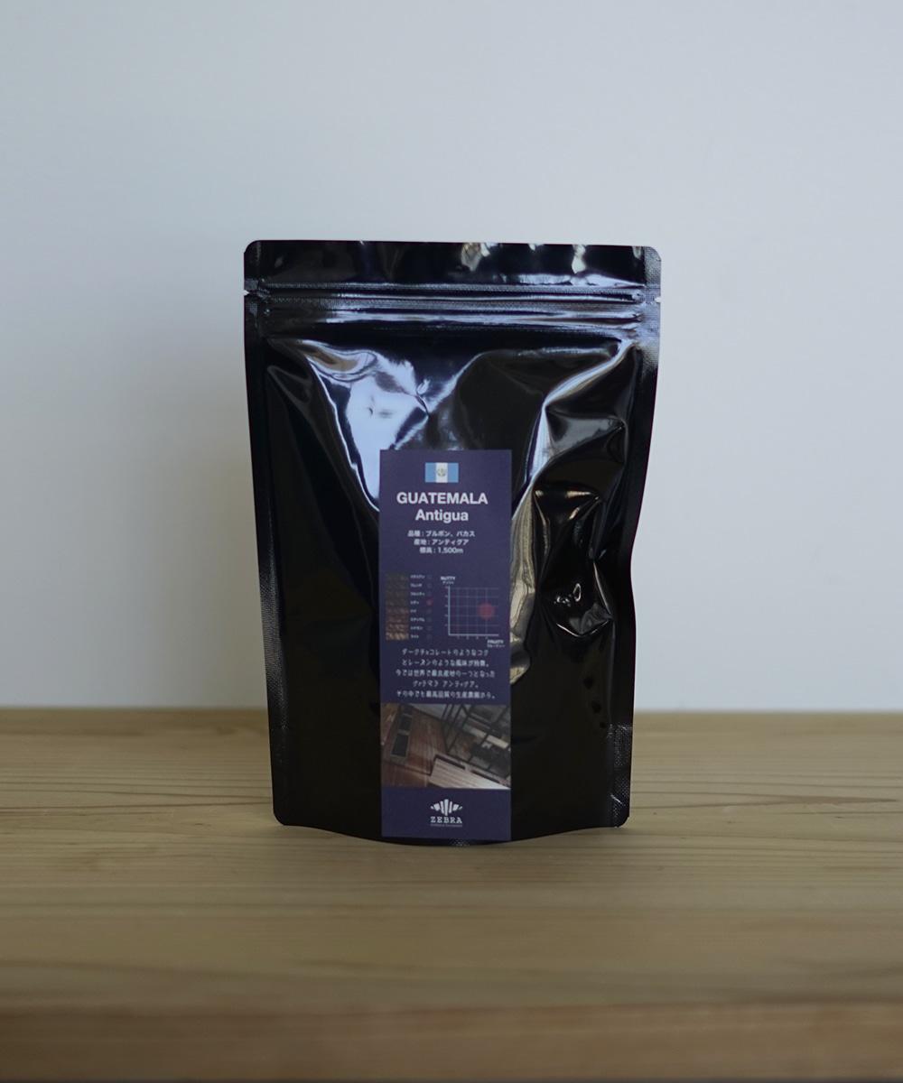コーヒー豆 パッケージ グァテマラ